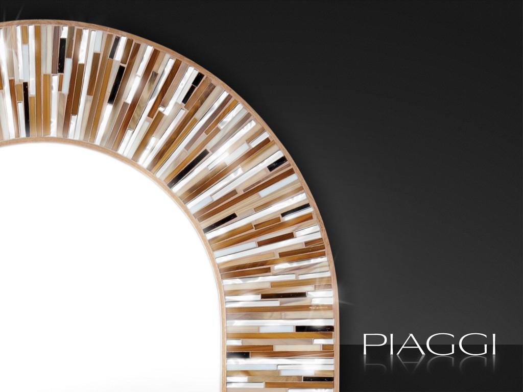 Handmade mirrors piaggi contemporary mirrors stadium for Contemporary mirrors