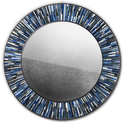 Navy Blue Mirror Roulette