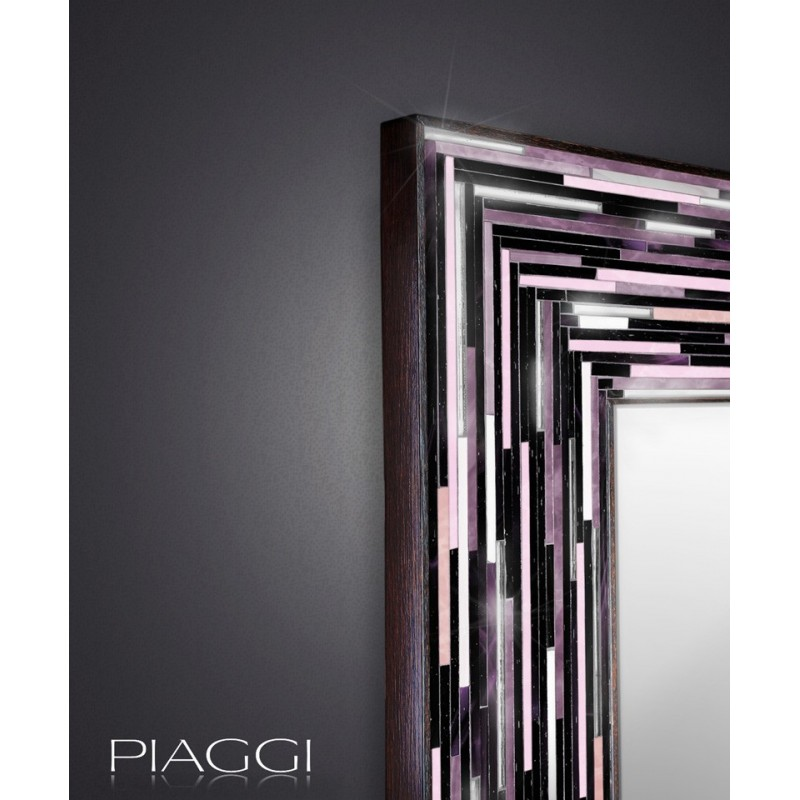 Handmade mirrors: Big Q Pink