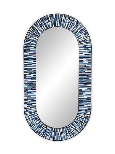 Stadium Navy Blue Mirror