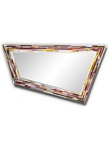 Rhombus Multicolour Mirror