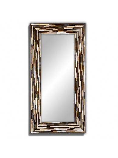 Big Q Beige Modern Mirror