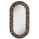 Stadium Light Brown Mirror