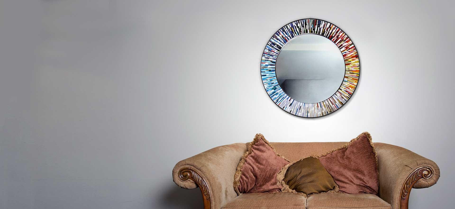 Luxury interior accessories: mirrors